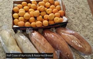 Apricots & Bread 7-25-14