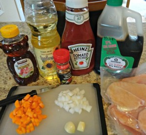 Slow Cooker Honey Chicken   A Reinvented Mom