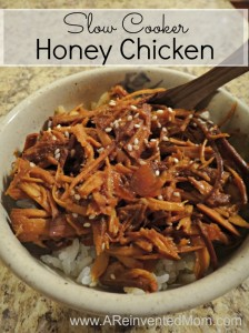 Slow Cooker Honey Chicken