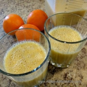 Healthier Copycat Orange Julius