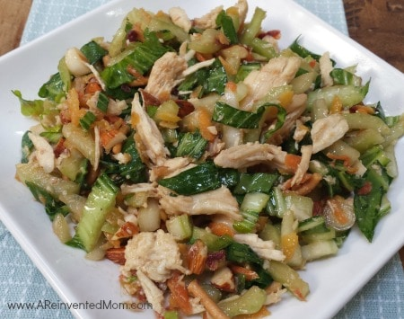 Bok Choy Salad with Ginger Sesame Soy Dressing | A Reinvented Mom