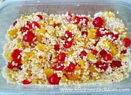 Mom's Creamy New York Fruit Salad Mac & Fruit - A Reinvented Mom